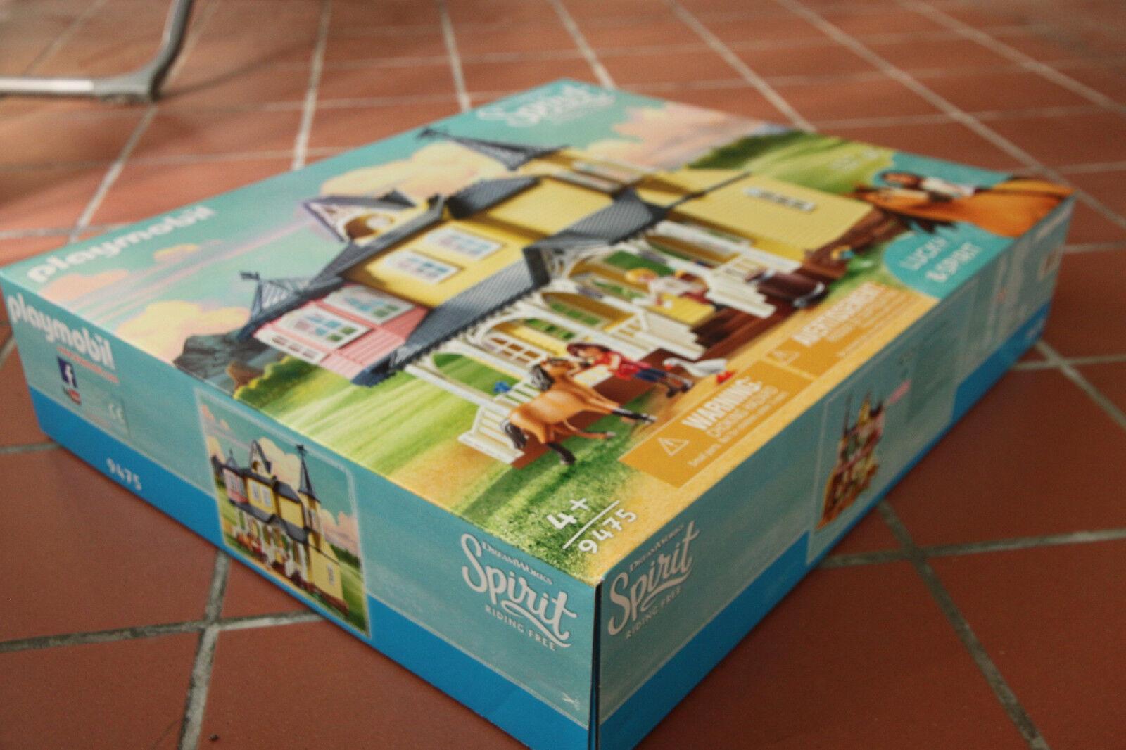 Playmobil Spirit Maison Maison Maison de Lucky 9475 a28694