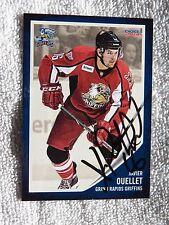 Xavier Ouellet 13/14 Grand Rapids Griffins Auto SGA Card Detroit Red Wings