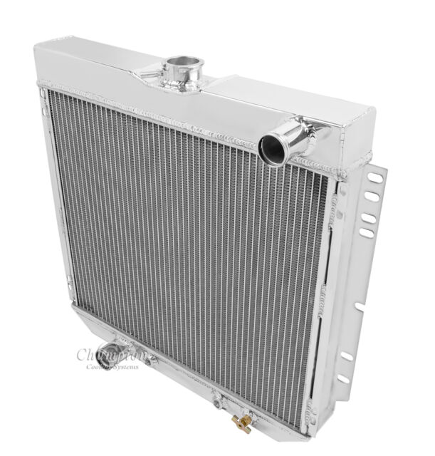 1969 1970  Ford Mustang 4 Row Core All Alumimum Alliant Radiator