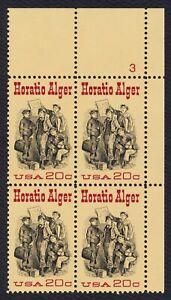 #2010 Horatio Alger, Placa Bloque [3 Ur ] Nuevo Cualquier 5=