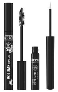 fcbf243d169 Image is loading LAVERA-Bio-Organic-Natural-Volume-Mascara-BLACK-Eyeliner-
