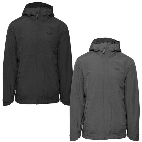 Jack Wolfskin Seele 3 in1 uomini Jacket divertiuominitozione Giacca Giacca hardshell 1111671