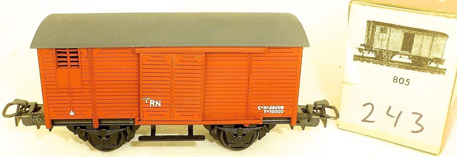 Rn Freight Car Closed electredren 805 243 h0 1 87 EMB. orig å