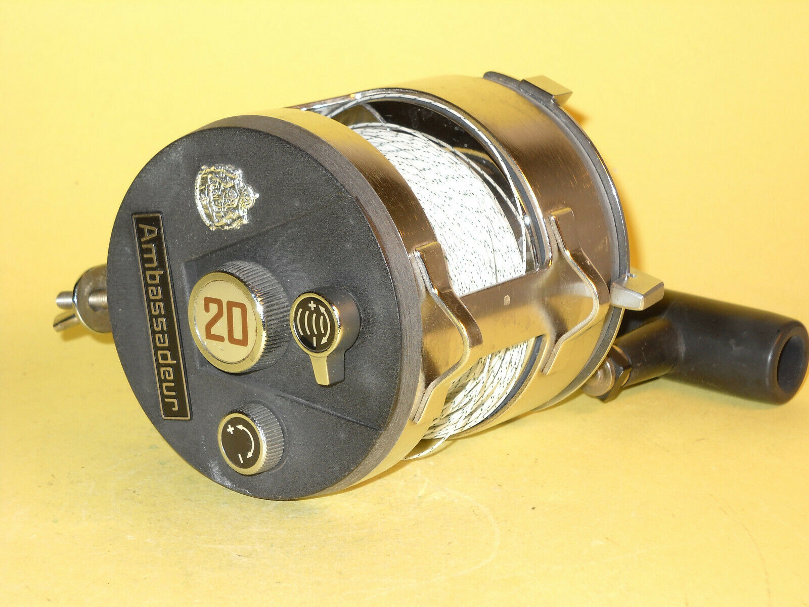 ABU  Ambassadeur 20 - a Vintage Big Reel in extremely good condition   no minimum