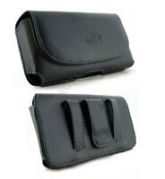 Leather Belt Clip Case Pouch For Apple Iphone 4 4s Fits W/ Lifeproof Case On It