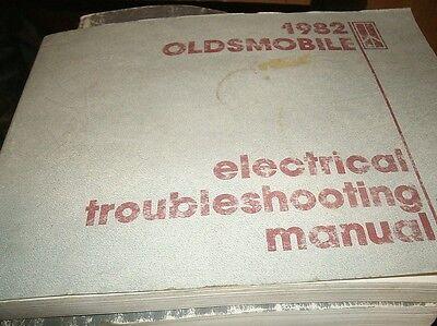 1982 OLDSMOBILE CUTLASS NINETY-EIGHT 98 88 TORONADO WIRING ...