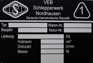 Famulus Tracteur Moteur Remorqueur Nordhausen Bouclier (plaque Signalétique 105x75mm)-afficher Le Titre D'origine PréVenir Et GuéRir Les Maladies