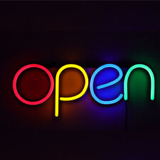 New Listingbusiness Store Sign Lamp Led Open Neon Light Bar Cafe Shop Outside Wall Decor
