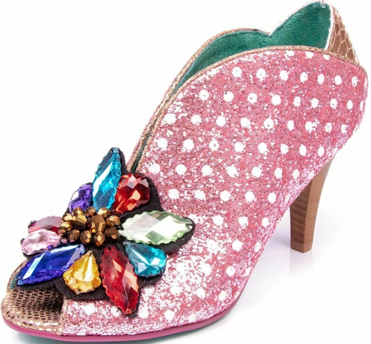 Poetic Licence Licence Licence follement Amoureux Rose Femme Bout Ouvert Talons Hauts Chaussures d186fd
