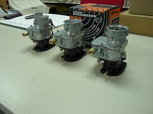 Details about Ford 289 302 360 390 428 FE tripower 3 dueces BIG97 Stromberg  97 carburetors