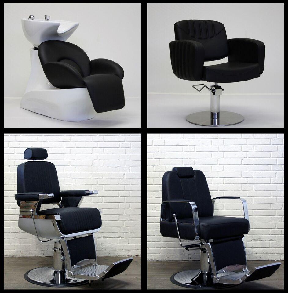 100% nyt frisørinventar, baberstole
