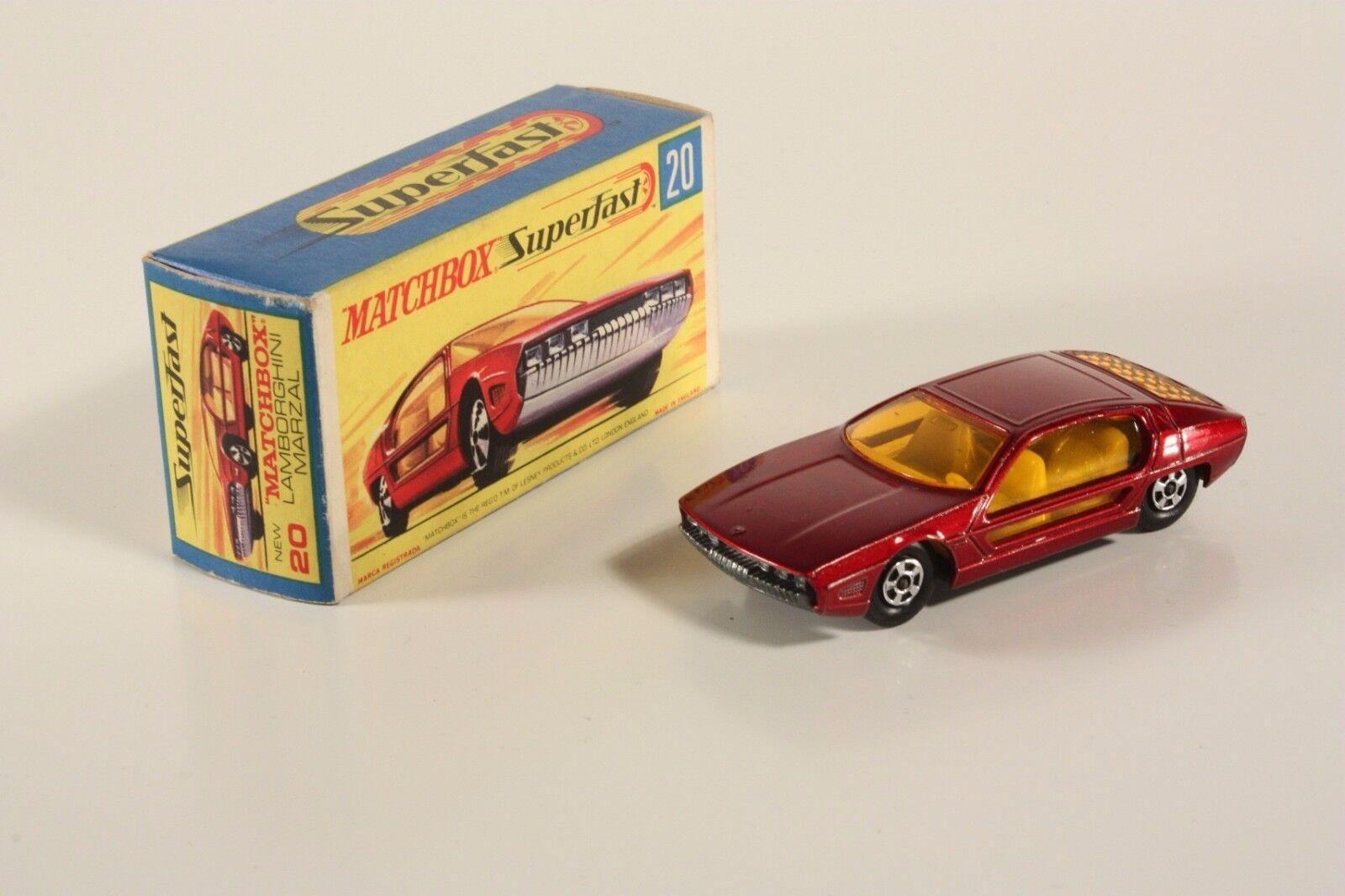 MATCHBOX 20, Lamborghini Marzal, Comme neuf Dans Box  ab1796
