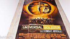 UNIVERSAL SOLDIER le combat absolu  ! jean claude van damme affiche cinema