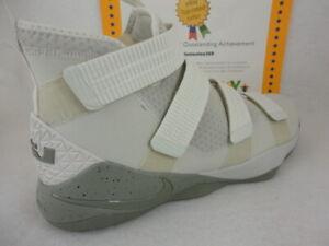 0c7e3f609f41 Image is loading Nike-Lebron-Soldier-XI-SFG-Light-Bone-Dark-