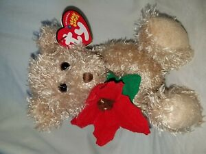 TY Beanie Baby 2005 Holiday Teddy Mint Rare Retired Babies MWMT