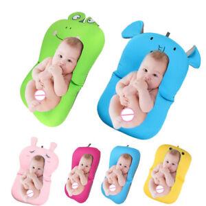Bath Baby Seat Mat Bathtub Pad Infant Safety Newborn Cushion Kids