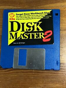 Amiga-Format-Magazine-Cover-Disk-55a-Disk-Master-2-tested-amp-working