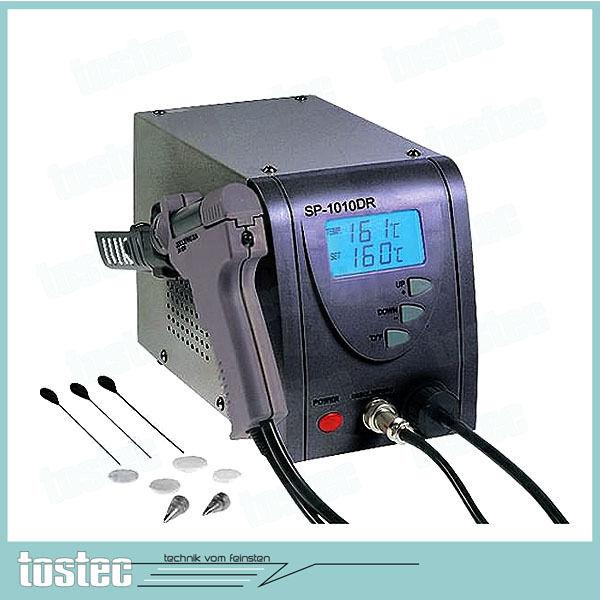Entlötstation Digital geregelt mit LCD Anzeige ESD konform 160-480°C - 3 Düsen