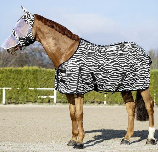 USG ZEBRA RUG - PONY COB FULL FOR HORSE EQUINE SUMMER FLY PredECTION