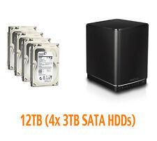 €491+IVA NAS D-LINK DNS-340L 12TB (4x3TB ST3000DM001) Refurb GARANZIA 1 Anno