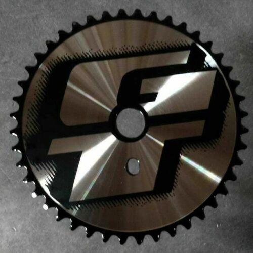 "GT Sprocket 1//2*1.8/"" Chrome//Black BMX Sprocket"