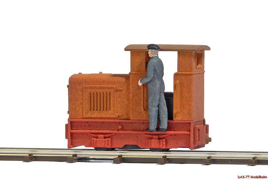 H0 tren de campo gmeinder con maquinista cerrado 15 18 transporte busch 12180
