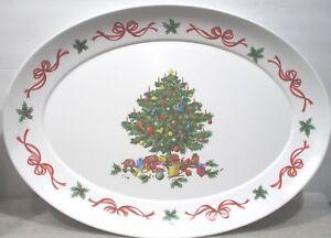 Melamine Christmas Platters.Details About Brookpark Melamine Christmas Platter 1521