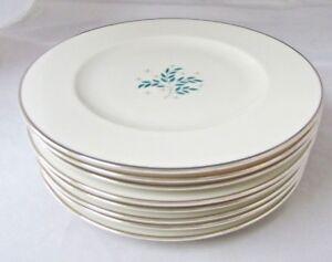 Lyric Pattern By Syracuse China Usa 8 Lot 8 Salad Plates Ebay