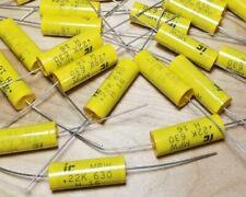 Lot Of 20 Illinois 022uf 630vdc 10 Film Capacitors 224mpw630k 105c