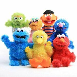 Sesame-Street-Plush-Hand-Puppet-Play-Games-Toys-Elmo-Cookie-Monster-Kermit-Erine