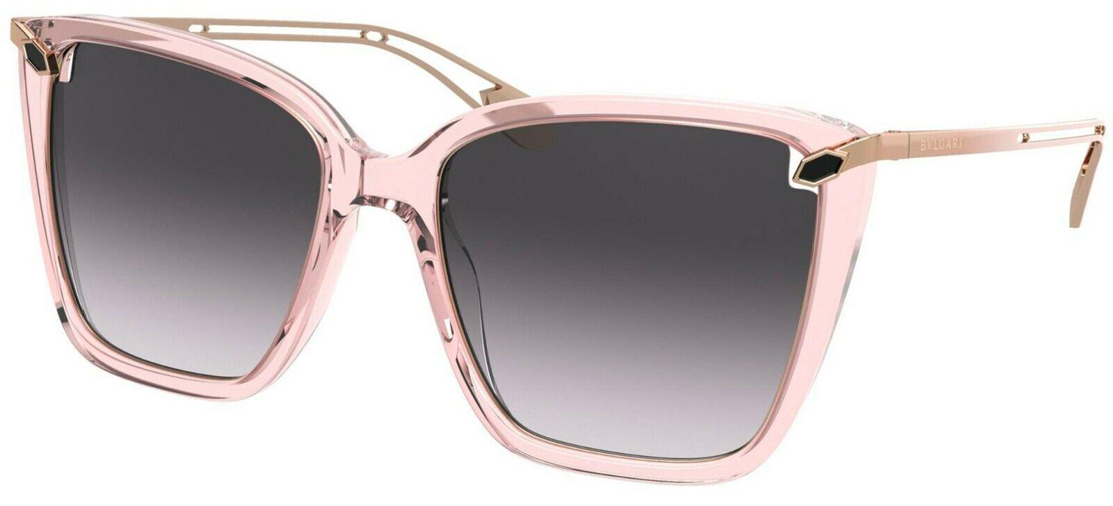 Bvlgari SERPENTI BV 8232 Pink/Grey Shaded (5470/8G) Sunglasses