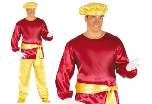 Aladdin //Desert Prince Costume Noble Server Prince Helper Fancy Dress Adult