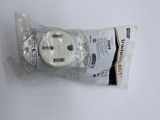 Hubbell Trade Select Rr450fw Range Amp Dryer Receptacle 50 Amp 3 Pole 4 Wire White