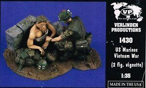 1-35-RESIN-FIGURES-VERLINDEN-1430-US-MARINES-VIETNAM-WAR-NEW