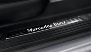 Mercedes-Benz-Original-Seuils-de-Porte-Lumieres-2-fach-X117-Cla-Shooting-Neuf