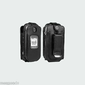 Samsung-Gusto-2-Original-Verizon-Fitted-Leather-Case-with-Swivel-Belt-Clip