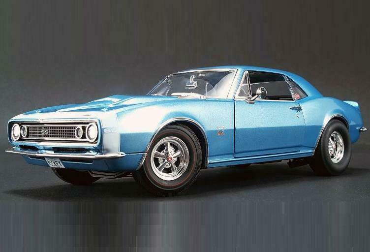 barato en alta calidad Acme 1967 Chevrolet Nickey Camaro 427 SS Azul Azul Azul 1 18 edición limitada de 600 Piezas  Nuevo   bonito   venta al por mayor barato