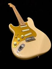 LEFTY! Custom Built Blonde Strat Guitar Aged Vintage Fender Pups Left RELIC HSC