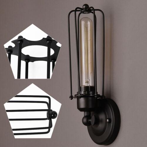 Retro Vintage Wandlampe Wandleuchte Metall Regenschirm Industrie Drehbar Loft DE