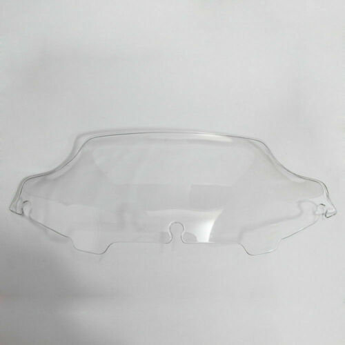 "6/"" Wave Windshield Clear For Harley Touring FLHT FLHX 96-13 Electra Tri Glide HD"