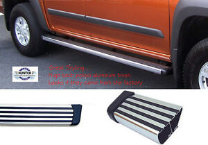 6 Chrome Glossy Side Step Nerf Bar Running Board Replacement for Ford F-250 350 450 550 Super Duty Extended 99-16