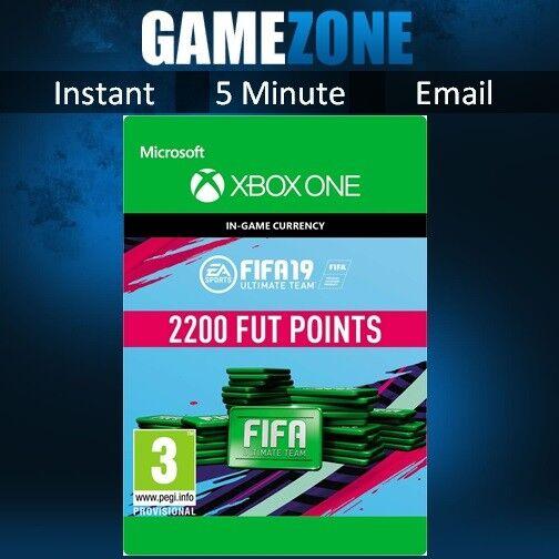 FIFA 19 Ultimate Team - 2200 FIFA POINTS-XBOX ONE-FUT punti CODE - 2019