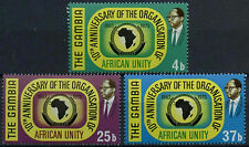 Gambia 1973 SG#309-311, 10th Anniv Of OAU MNH Set #D19407