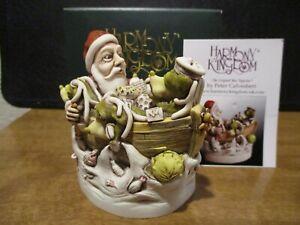 Harmony Kingdom Sick Bay 2019 Santa UK Made Box Figurine SGN REPAIRED