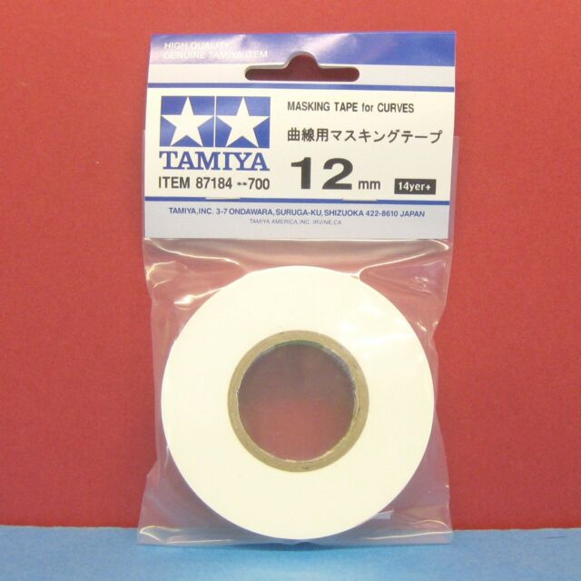 Tamiya #87184 [12mm] Masking Tape for CURVES (14yer)