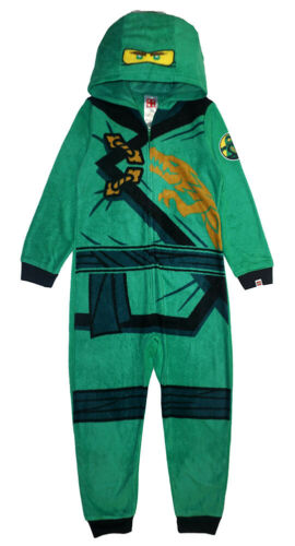 Ninjago Boys Lloyd Costume Blanket Sleeper Size 4//5 6//7 8 10//12