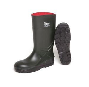 01257d2cf1 Dirt Boot Ladies Mens Dark Green PU Festival Wellington Boots ...
