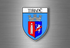 Sticker Car Motorbike Coat of Arms City Flag Piedmont Piemonte Italy