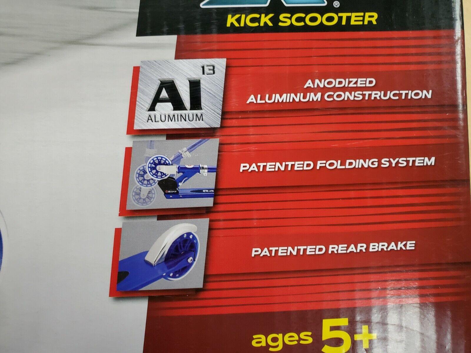 Razor A125 Anodized Aluminum Folding Scooter blurosso