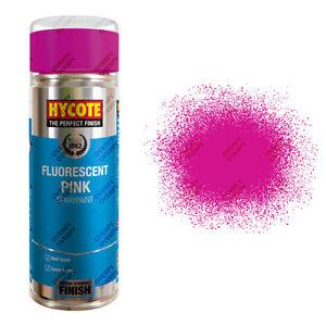 x21 Hycote® 400ml Fluorescent Pink Neon Aerosol Car Spray Paint Acrylic Formula